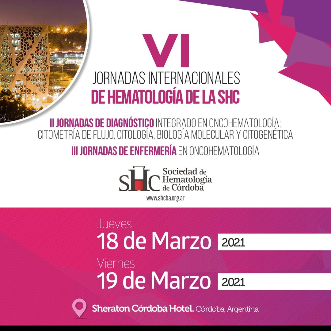 Jornadas internacionales de hematología de la SHC